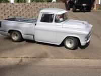 For Sale: 1957 Chevy Pickup Truck Couple things about