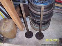 "Chevy 1957 1958 1960 1961 14X5"" wheel Has bumps to hold"