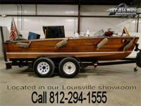 1957 Chris Craft Sportsman. This 17 foot runabouts