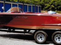 1957 Chris Craft Capri, Engine: 283 motor, 8 Cylinder,