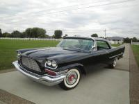 1957 CHRYSLER 300-C (REAL BLACK CAR)    (#MATCHING HEMI