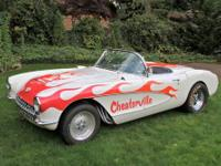 1957 CHEVROLET CORVETTE CHEATERVILLE RACE CAR.