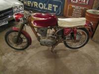 A very fine example of a unrestored total bike.with a
