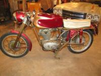 a very fine example of a unrestored complete bike.with