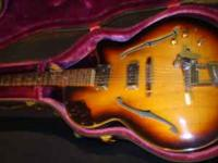 I have a 1957 electric FRAMUS guitar that was made in