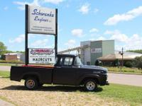 1957 Ford F-100 (MN) - $6,000 Hot rod black paint with