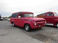 * 1957 Ford F 100 Panel Wagon * Older restoration with