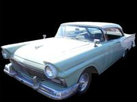 1957 FORD FAIRLANE 312 V8, FORD-O-MATIC TRANS., AM