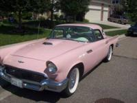 1957 Ford Thunderbird American Classic Insured for 54k
