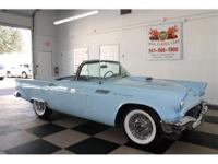 1957 Ford Thunderbird Starmist Blue w/ Colonial White