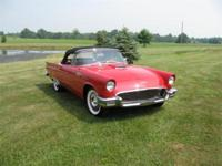 1957 Red Thunderbird for sale- Beautiful frame off