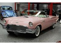 This 1957 Ford Thunderbird 2dr Roadster features a 312