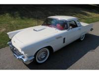 1957 FORD THUNDERBIRD ROADSTER  312CU.IN V8 / 245 H.P.