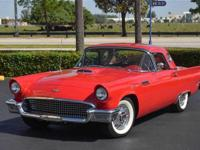 1957 FORD THUNDERBIRD FULL FRAME-OFF RESTORED AND