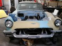 1957 Ford Thunderbird job. 429 V8 brief block,