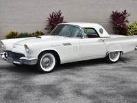 1957 Ford E-code Thunderbird Convertible equipped with