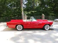 1957 Ford Thunderbird ..Total Restoration ..Torch Red