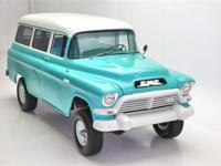 1957 GMC Suburban Napco 4  New glass all the way