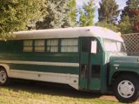 1957 GMC TGH3102. This 33 footer is a bus conversion a
