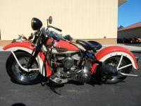 1957 HARLEY DAVIDSON FLAT HEAD. IT IS ENGINE AND TITLE