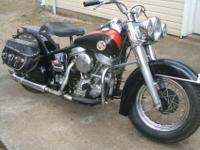 This is a real nice 1957 FLH Panhead in great running