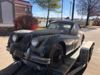 1957 Jaguar XK140 FHC Barnfind Recently discovered