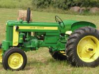 1957 JOHN DEERE 420, Comes with loader. Effectively