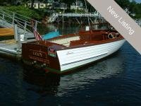 Beautifully Restored Classic Lyman Runabout with only