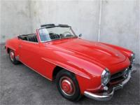 1957 Mercedes Benz 190SL Roadster Convertible Here is a