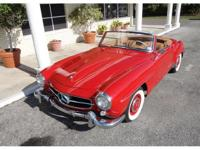 Very Nice Red Paint Exterior Tan Leather Interior and