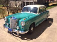 1957 Mercedes-Benz 200-Series 220S Sedan. Rust free