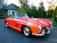 1957 Mercedes-Benz 300SL The convertible top is as new.