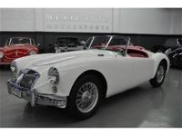 This 1957 MG A 2dr Roadster Convertible features a 1500