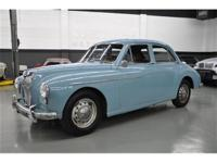 This 1957 MG Magnette 4dr Sedan features a 4 cyl 4cyl