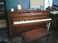 Come check out this 1957 Milton Piano, standard 88 key