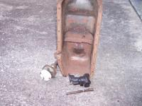 1957 283 Oil Pan (will need rust holes repair), Oil