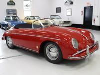 1957 Porsche 356 A 1600 Speedster  NO RUST NO BONDO NO
