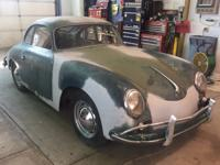 1957 Porsche 356 A Coupe VIN 101210 Engine 65130 Here