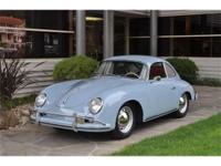 1957 Porsche 356A Coupe, 1600 T-1 Coupe VIN: 101091 -