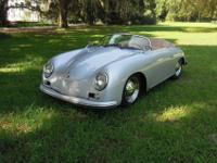 This 2007 built Porsche 356 Speedster by Beck is in