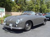 This is a very low mileage, nice 1957 Porsche 356