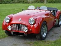 Nice TR 3 in perfect condition. The car comes with the