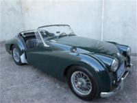 1957 Triumph TR3 1957 Triumph TR3, British racing green