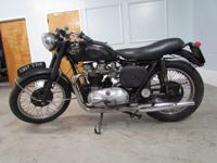1957 triumph TR6 pre unit. When I bought this bike it