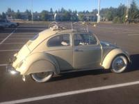 1957 European Oval Ragtop. Older Restoration, extremely
