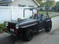 1957 willys jeep it has a 1963 corvette motor 2 speed