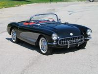 1957 Chevrolet Corvette, Equipped with the optional