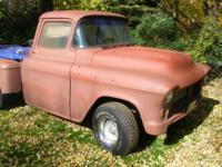 Small Block Chevy, car, all original sheet metal Frame