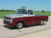 1957 Ford 1/2 ton pickup. Only 3000 miles since