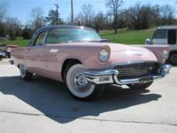 1957 Dual 4 Dusk Rose Thunderbird for sale-Included in